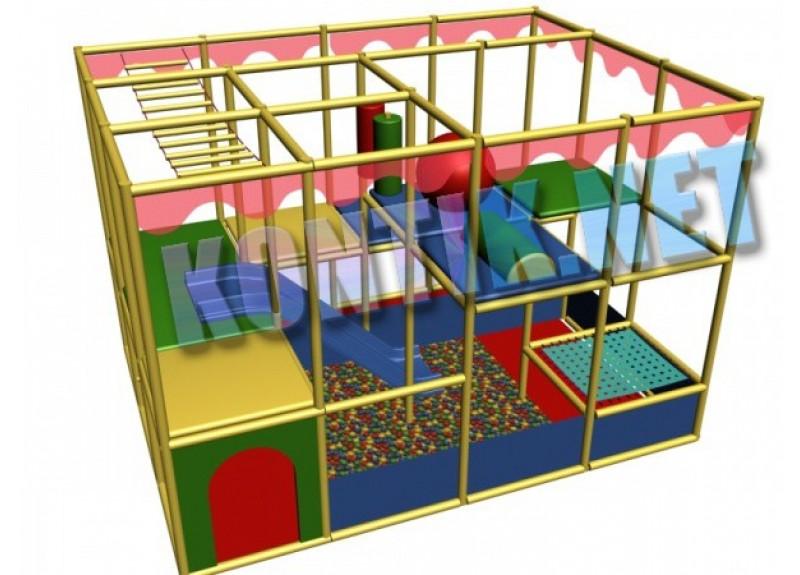 Игровая комната 2.65 x 3.5 x 3м