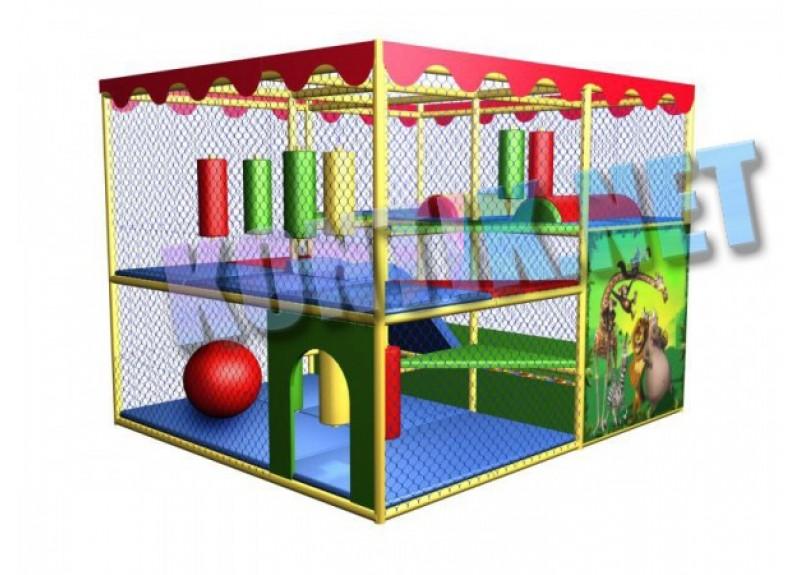 Игровая комната 3 x 3.5 x 3м