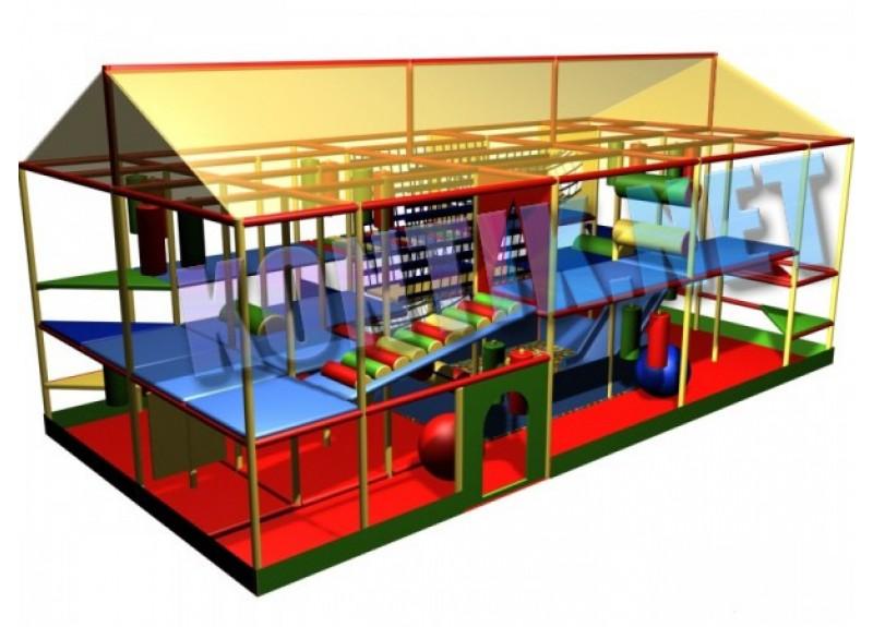 Игровая комната 8 x 4 x 3м
