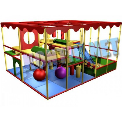 Игровая комната 5 x 4 x 3м