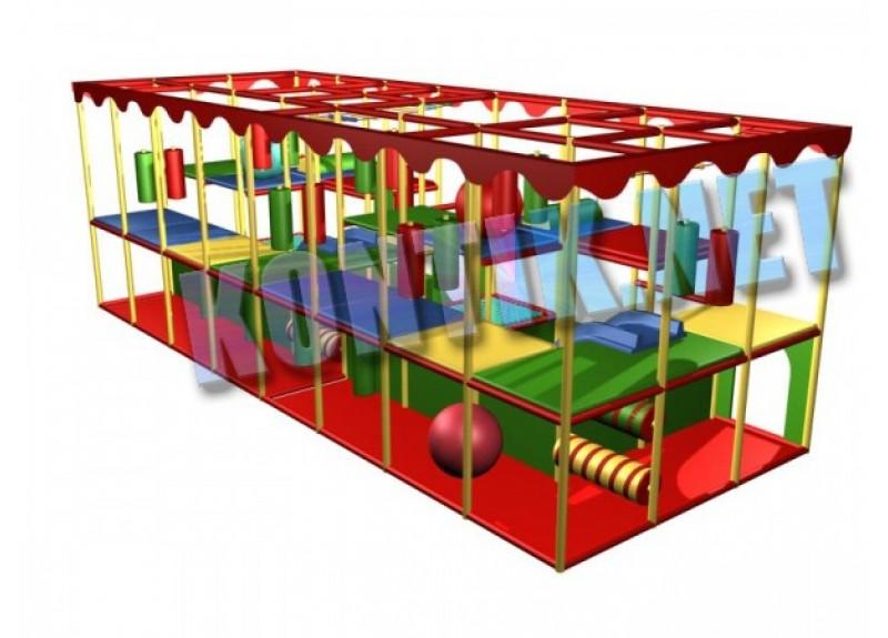 Игровая комната 8 x 3 x 3м
