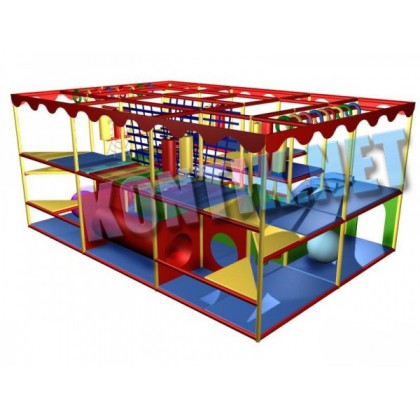 Игровая комната 6 x 4 x 3м