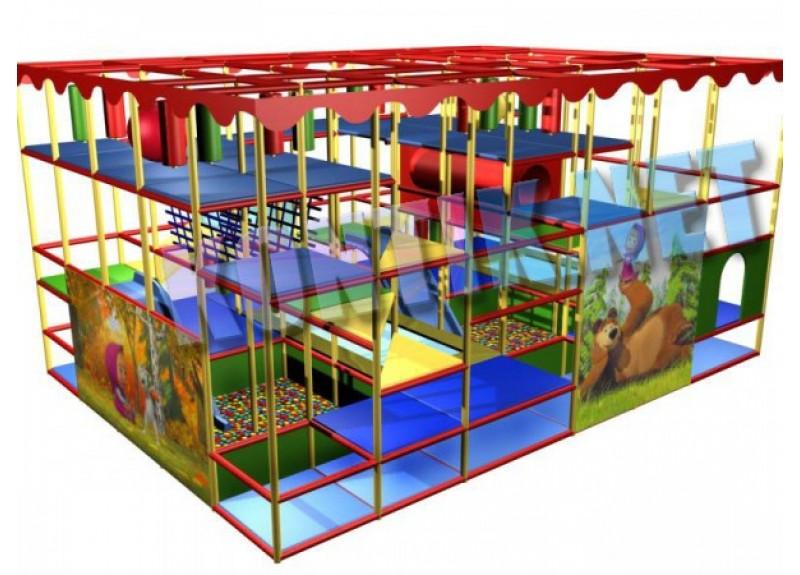 Игровая комната 7 x 5 x 3.5м