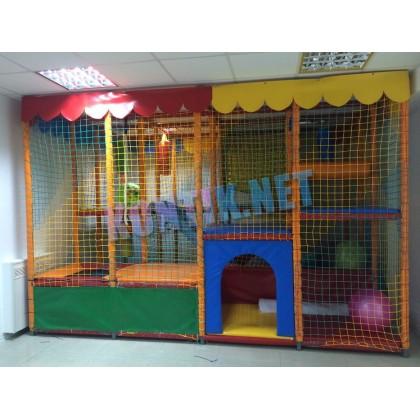Игровая комната 3х4х3 с батутом