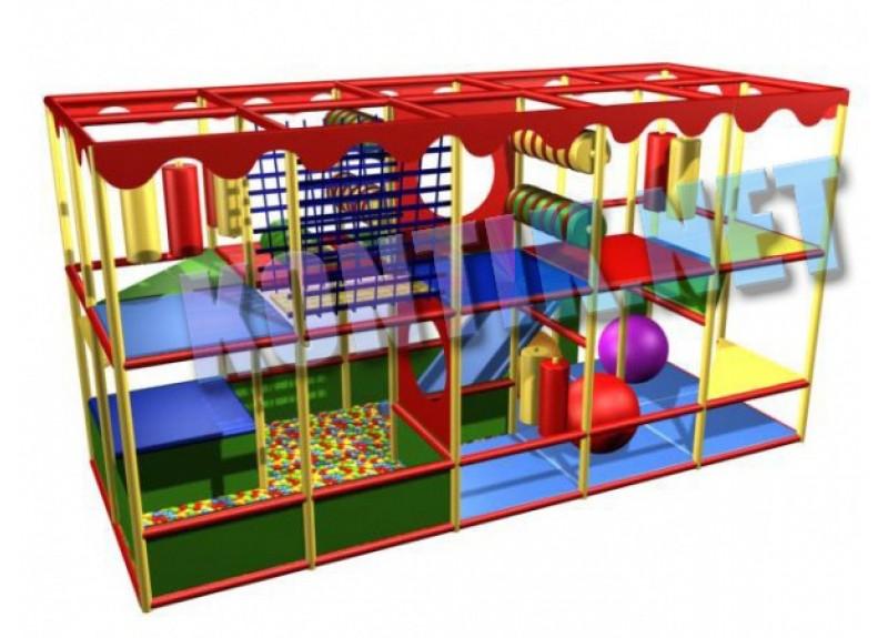 Игровая комната 5 x 2 x 3м