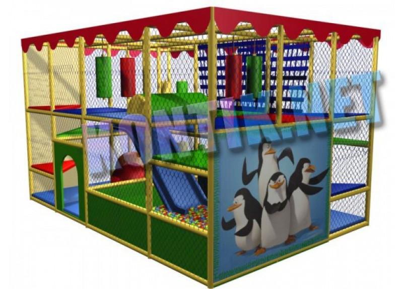 Игровая комната 4 x 5 x 3м